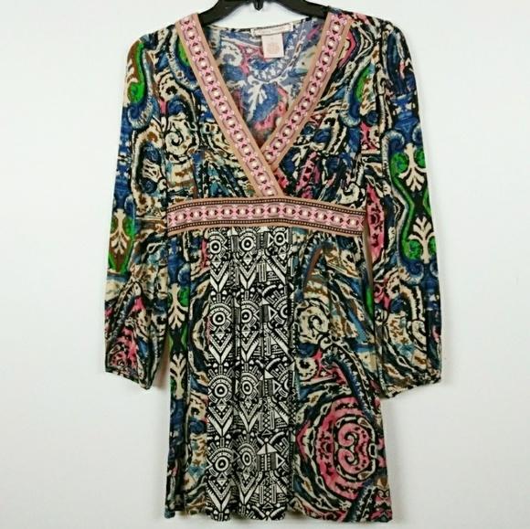 68637a212d5 Flying Tomato Dresses | Tunic Dress Tribal Print Size 2 | Poshmark